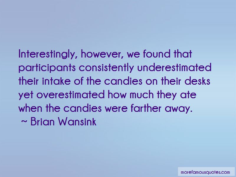 Brian Wansink Quotes Pictures 2