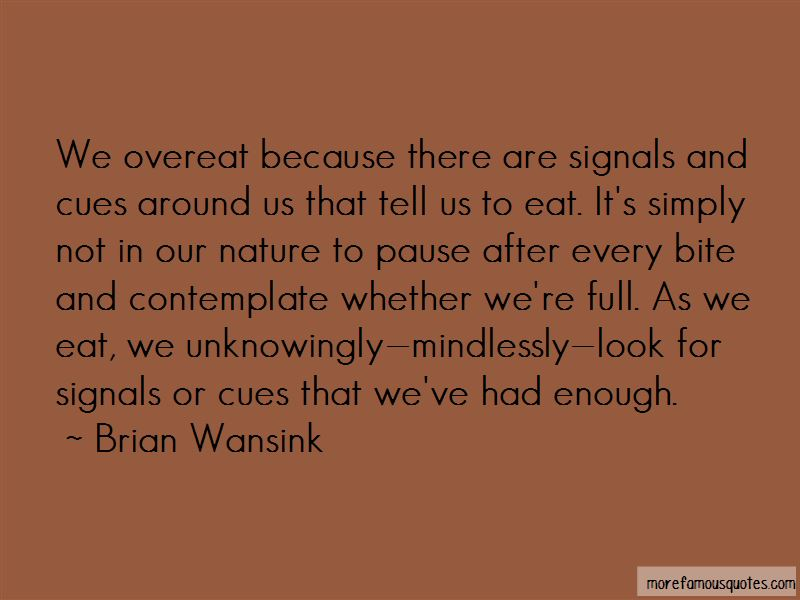 Brian Wansink Quotes Pictures 3