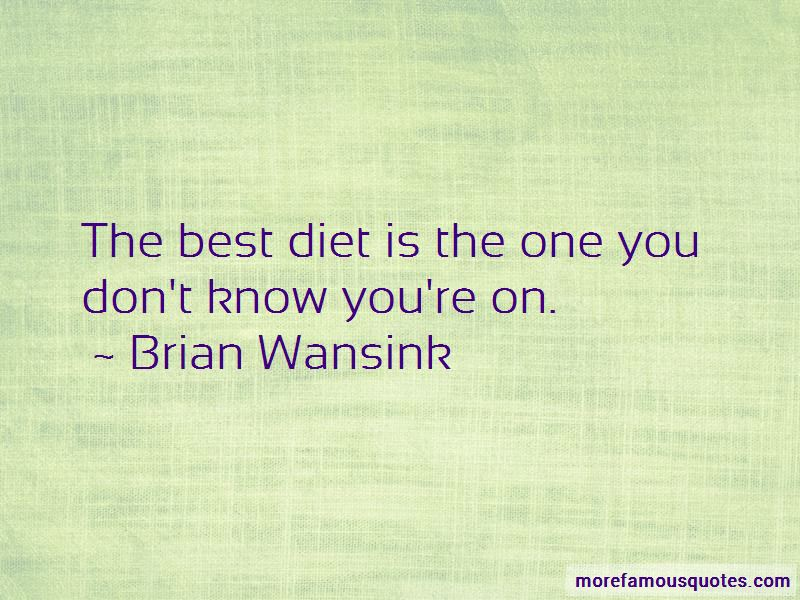 Brian Wansink Quotes