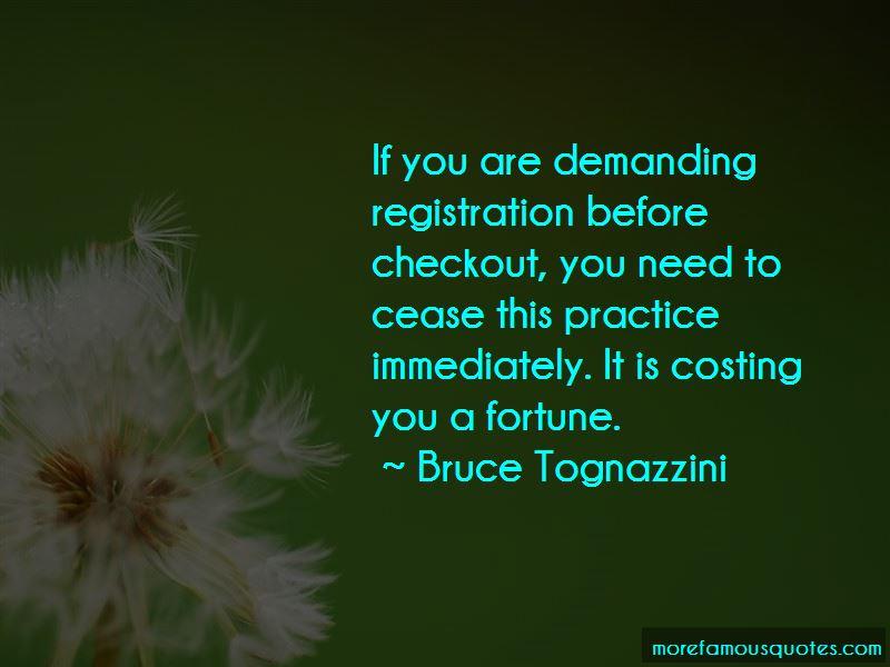 Bruce Tognazzini Quotes