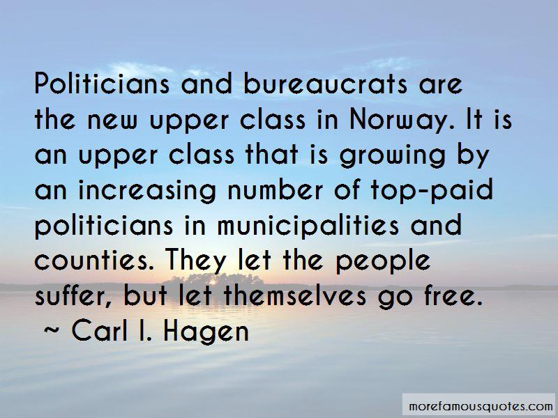 Carl I. Hagen Quotes