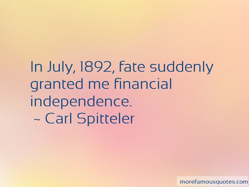 Carl Spitteler Quotes Pictures 4
