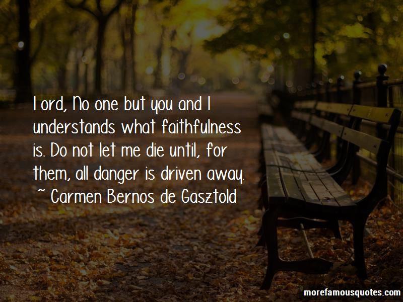 Carmen Bernos De Gasztold Quotes