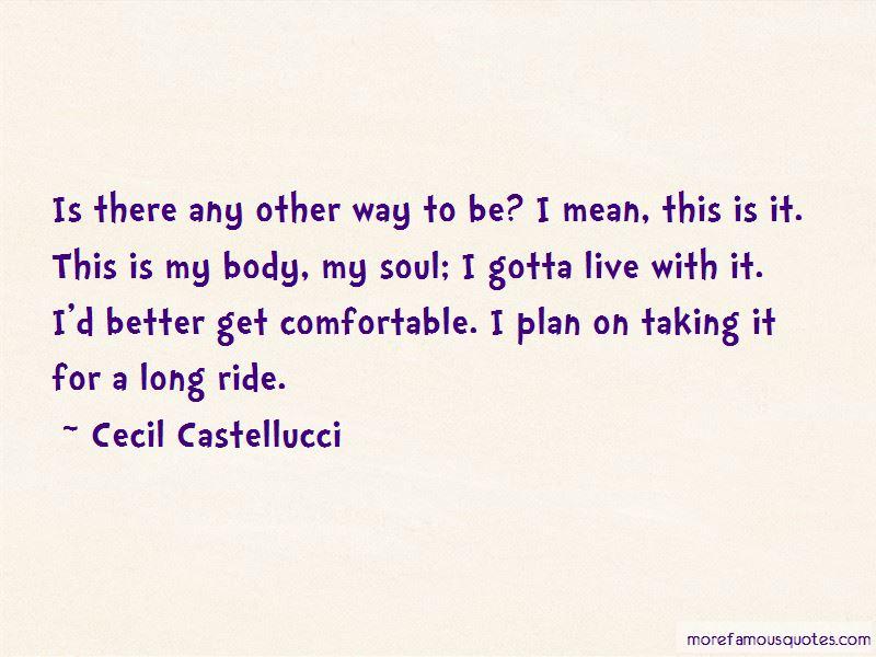 Cecil Castellucci Quotes Pictures 4