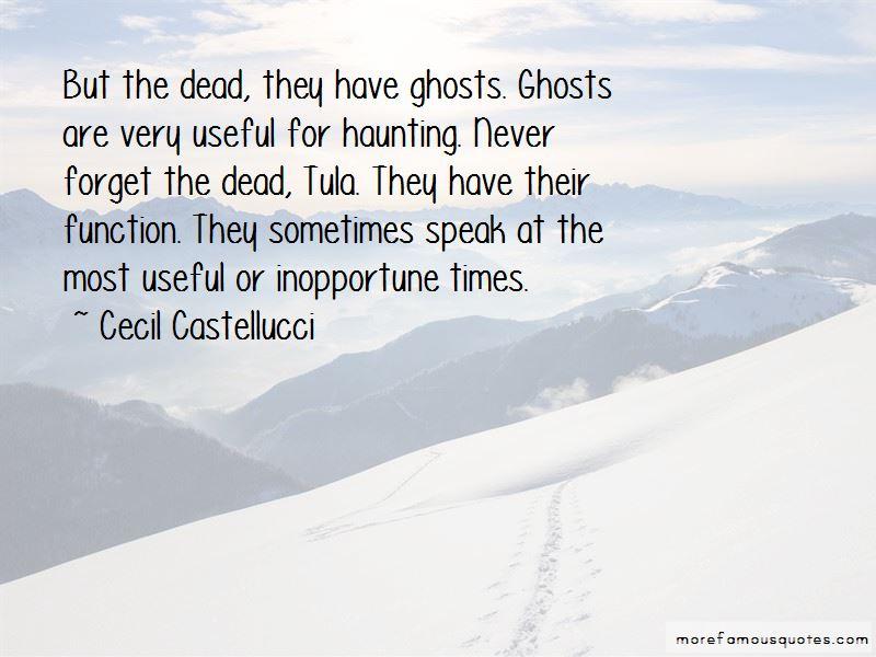 Cecil Castellucci Quotes
