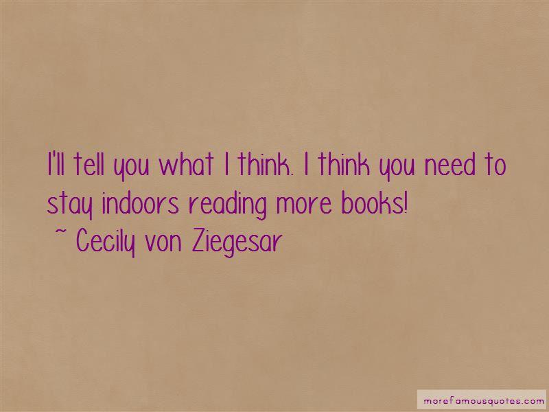 Cecily Von Ziegesar Quotes Pictures 2