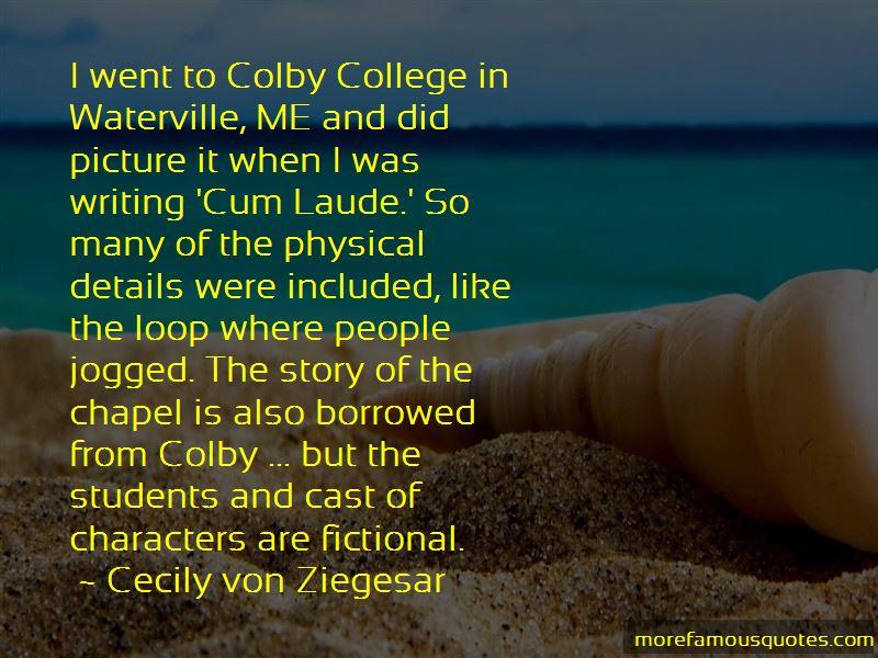 Cecily Von Ziegesar Quotes Pictures 3