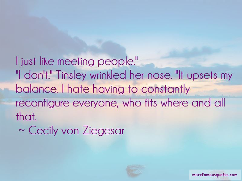Cecily Von Ziegesar Quotes