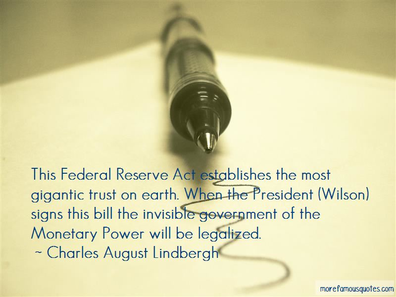 Charles August Lindbergh Quotes Pictures 3