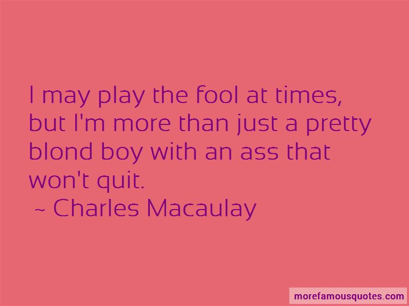 Charles Macaulay Quotes Pictures 3
