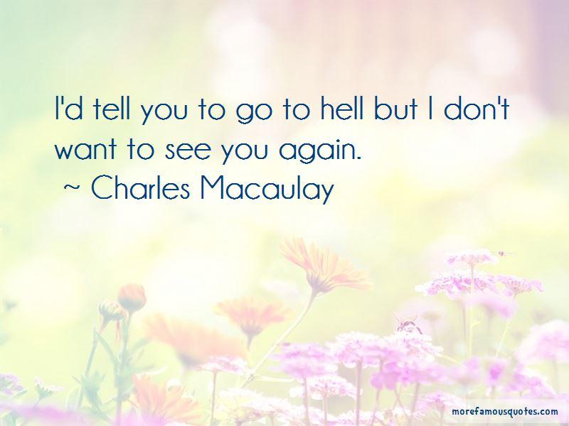 Charles Macaulay Quotes