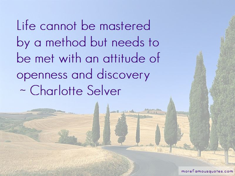 Charlotte Selver Quotes