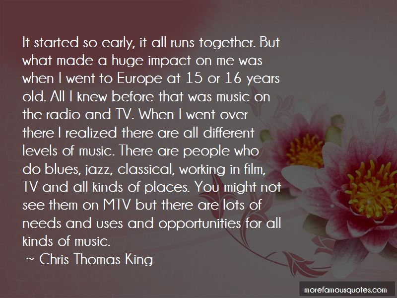 Chris Thomas King Quotes Pictures 2