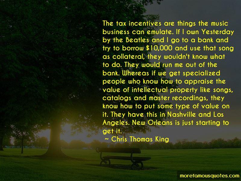 Chris Thomas King Quotes