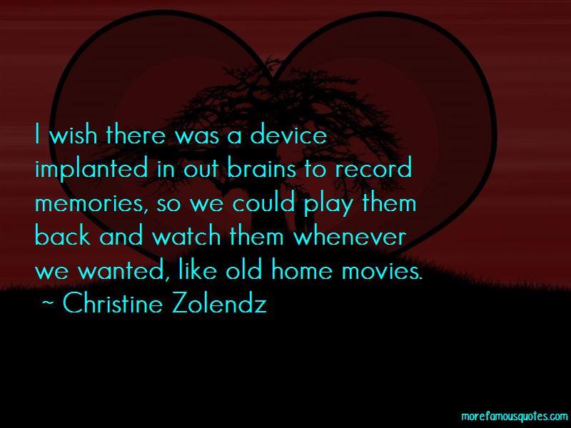 Christine Zolendz Quotes Pictures 4