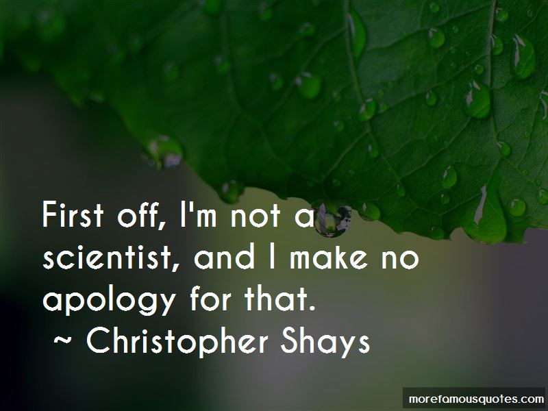 Christopher Shays Quotes Pictures 2
