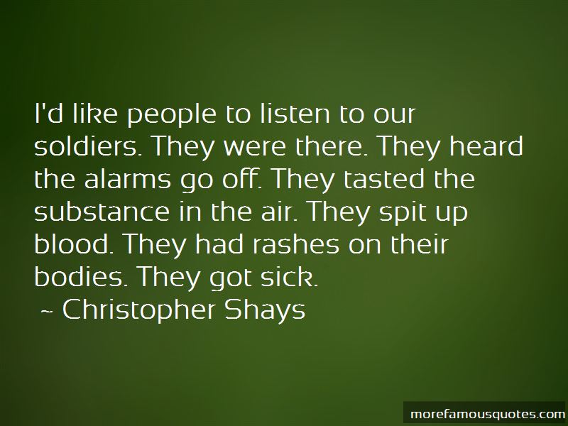 Christopher Shays Quotes