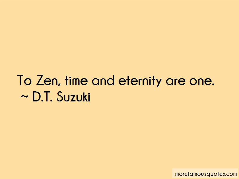 D.T. Suzuki Quotes