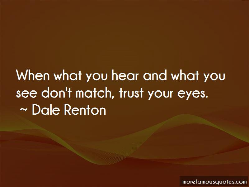 Dale Renton Quotes Pictures 2