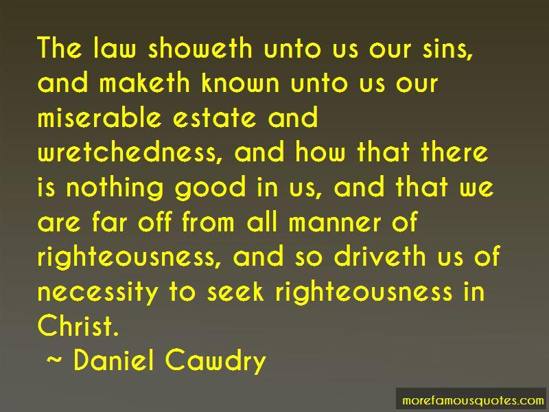Daniel Cawdry Quotes