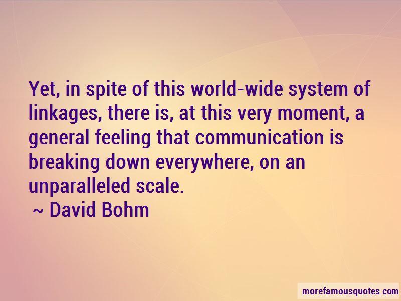 David Bohm Quotes Pictures 3
