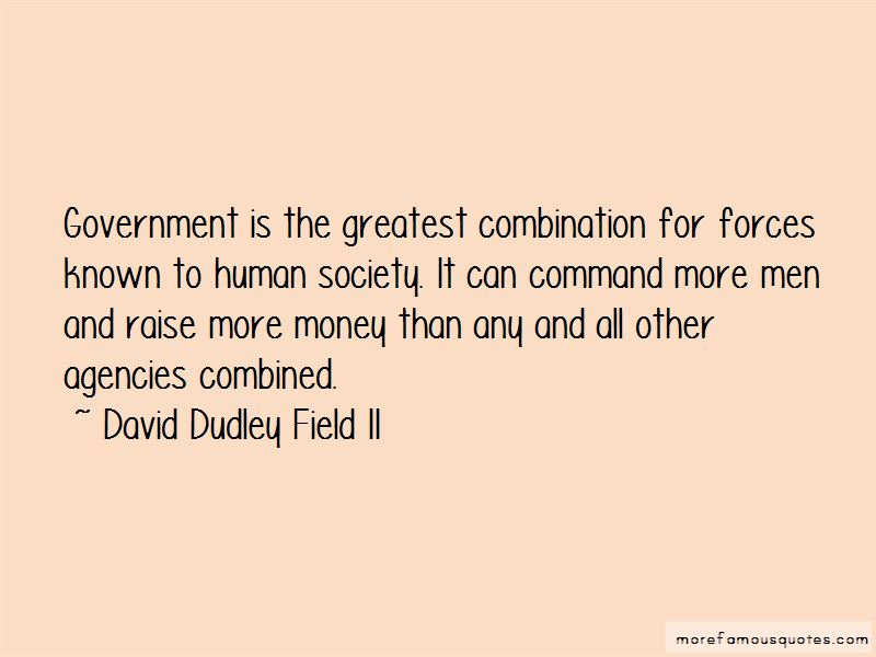 David Dudley Field II Quotes