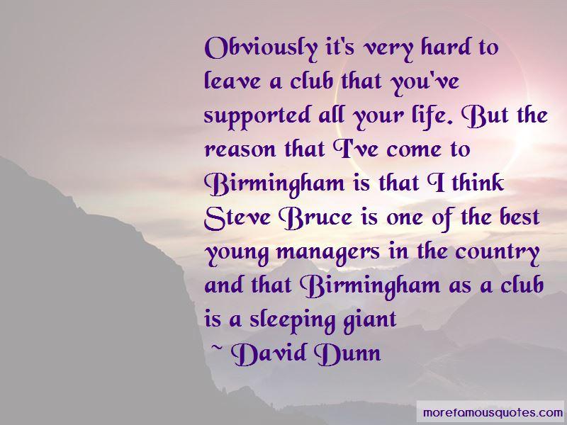 David Dunn Quotes