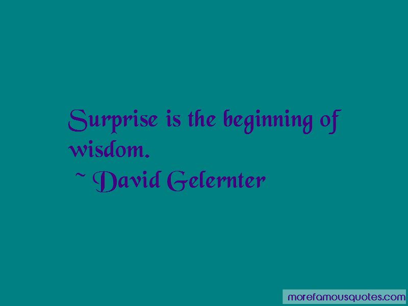 David Gelernter Quotes