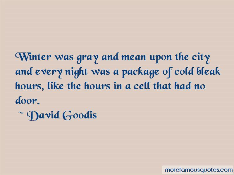 David Goodis Quotes