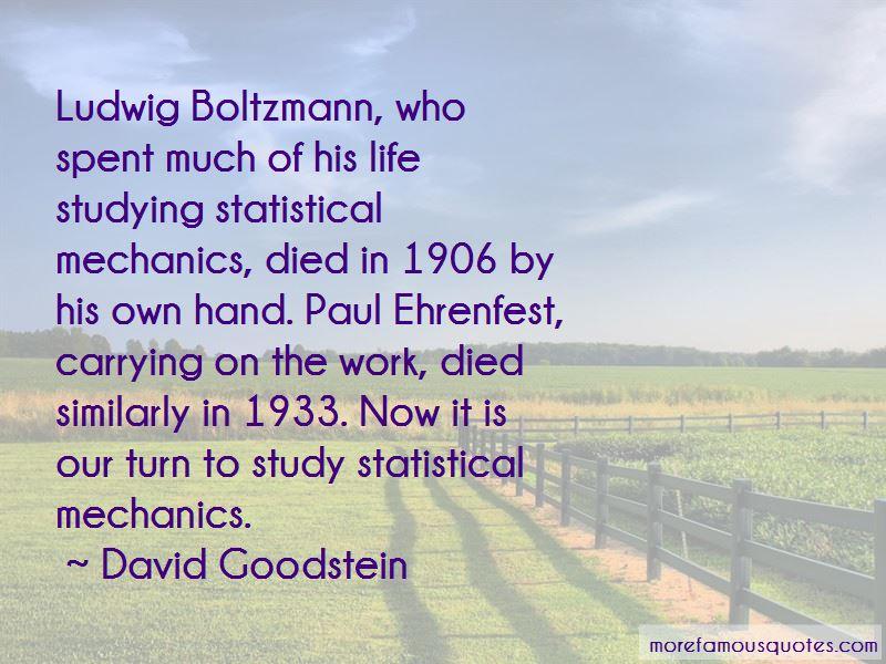 David Goodstein Quotes Pictures 2