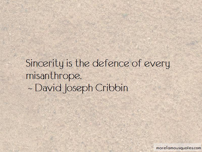 David Joseph Cribbin Quotes