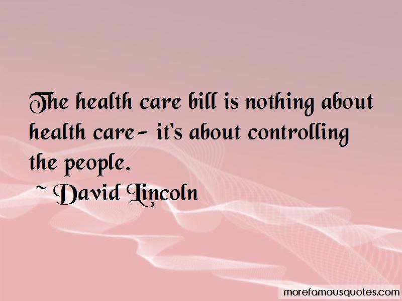 David Lincoln Quotes