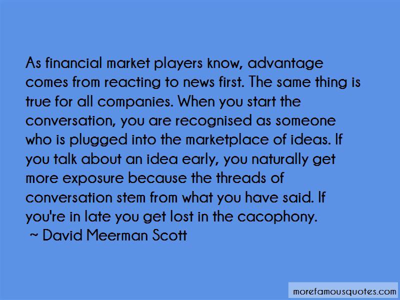 David Meerman Scott Quotes