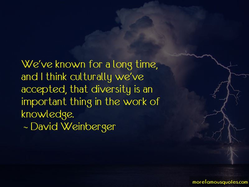 David Weinberger Quotes Pictures 2