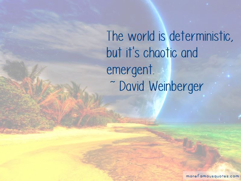 David Weinberger Quotes Pictures 4