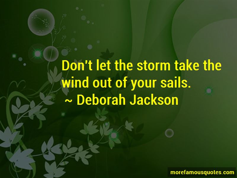 Deborah Jackson Quotes