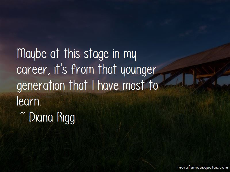 Diana Rigg Quotes Pictures 3