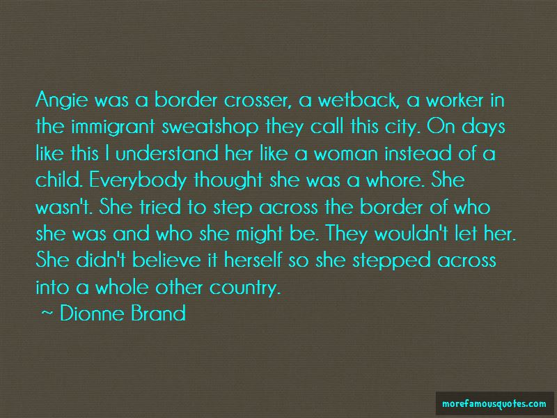 Dionne Brand Quotes Pictures 2