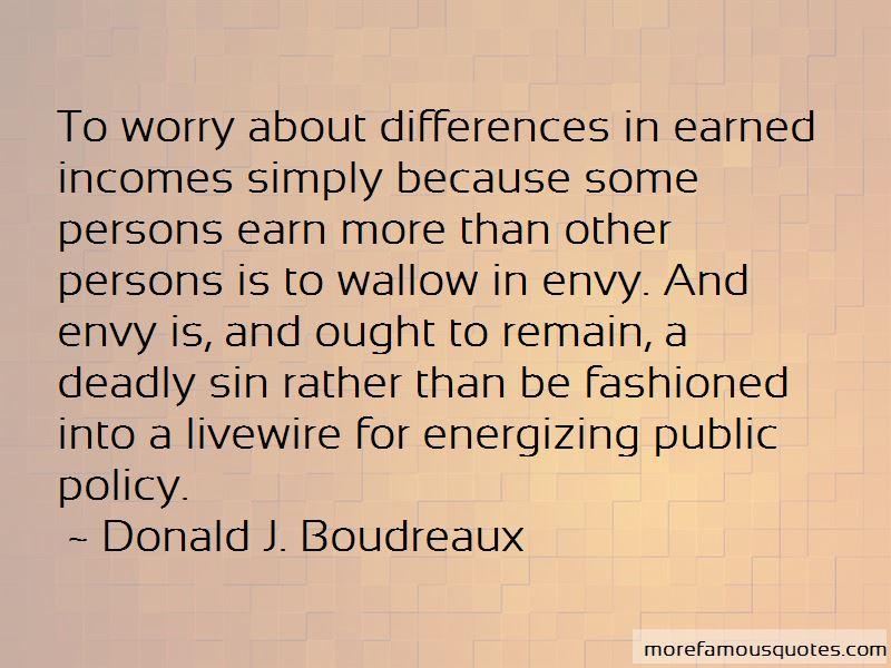 Donald J. Boudreaux Quotes Pictures 4