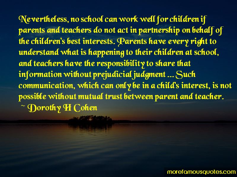 Dorothy H Cohen Quotes Pictures 4