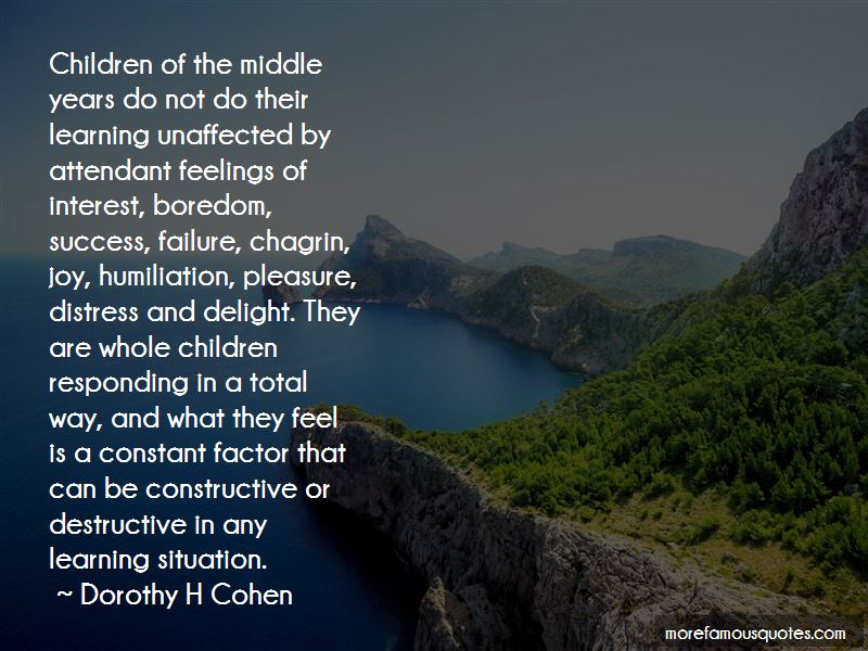 Dorothy H Cohen Quotes