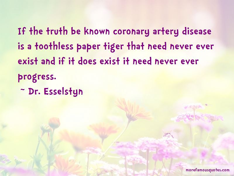 Dr. Esselstyn Quotes