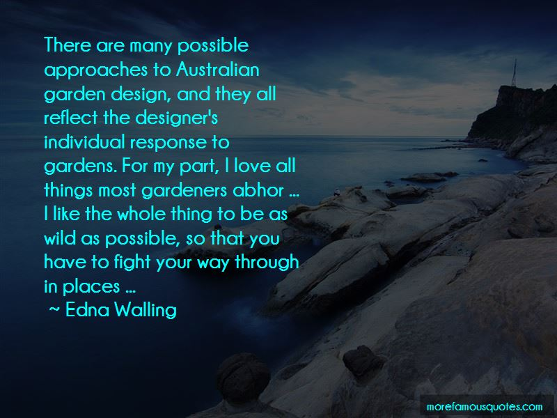 Edna Walling Quotes Pictures 2