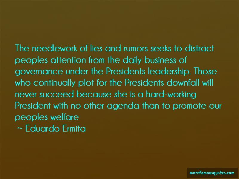 Eduardo Ermita Quotes