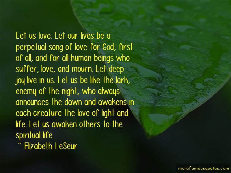 Elizabeth LeSeur Quotes