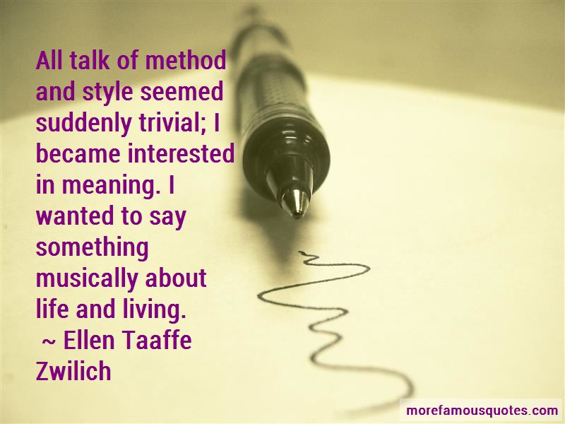 Ellen Taaffe Zwilich Quotes Pictures 3