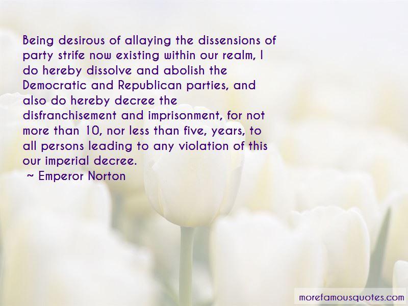 Emperor Norton Quotes