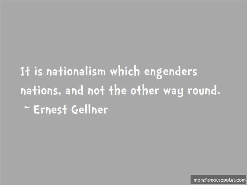 Ernest Gellner Quotes Pictures 3