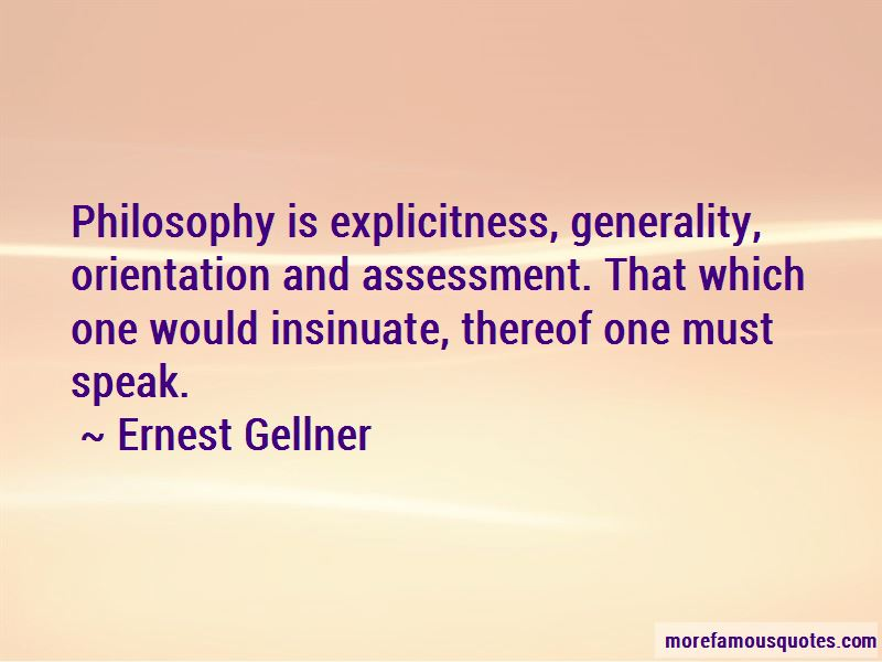 Ernest Gellner Quotes Pictures 4
