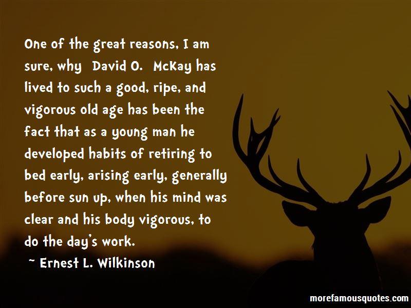 Ernest L. Wilkinson Quotes